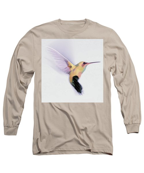 Flight Of The Hummingbird Long Sleeve T-Shirt