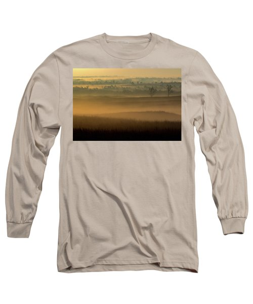 Flint Hills Sunrise Long Sleeve T-Shirt