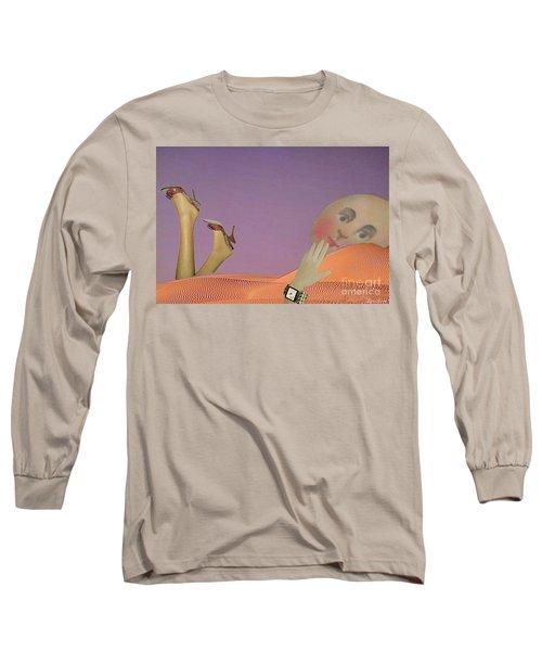 Flirt Long Sleeve T-Shirt by Lyric Lucas