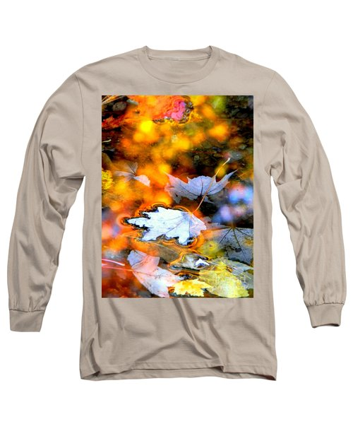 Floating Long Sleeve T-Shirt by Elfriede Fulda
