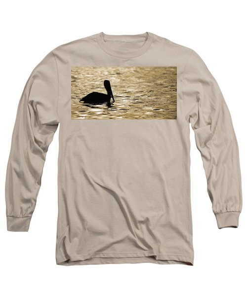 Floating In Gold Long Sleeve T-Shirt