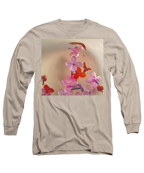 Floating Petals In A Bowl Long Sleeve T-Shirt