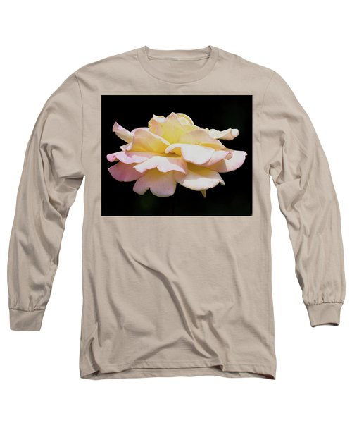 Floating Rose 3894 Long Sleeve T-Shirt