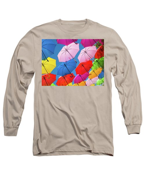 Floating Umbrellas Long Sleeve T-Shirt