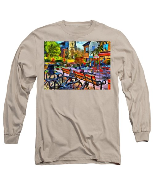 Floppy Bikes And Empty Benches Long Sleeve T-Shirt