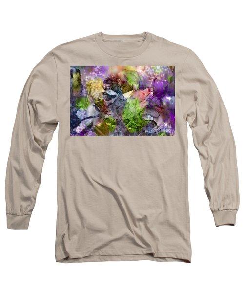 Floral Dream Of Oriental Beauty Long Sleeve T-Shirt