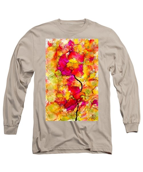 Floral Duet Long Sleeve T-Shirt