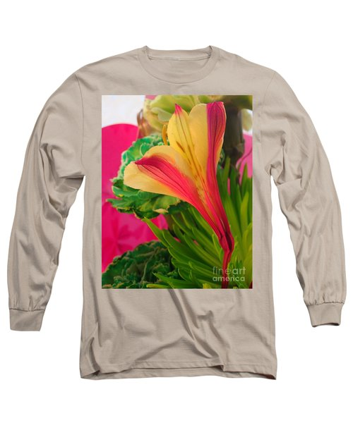Floral Fusion Long Sleeve T-Shirt