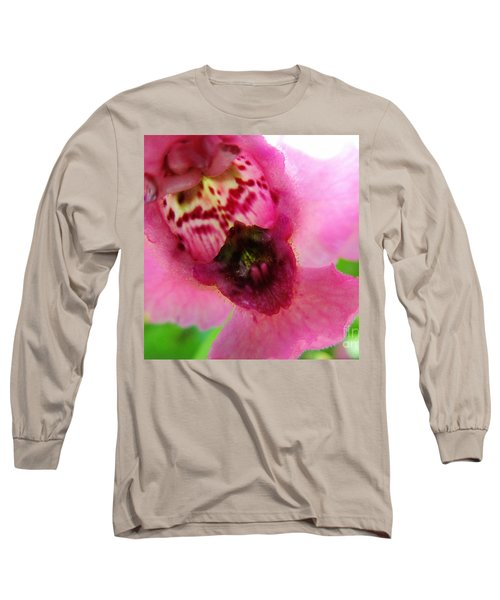 Floral Mask Long Sleeve T-Shirt