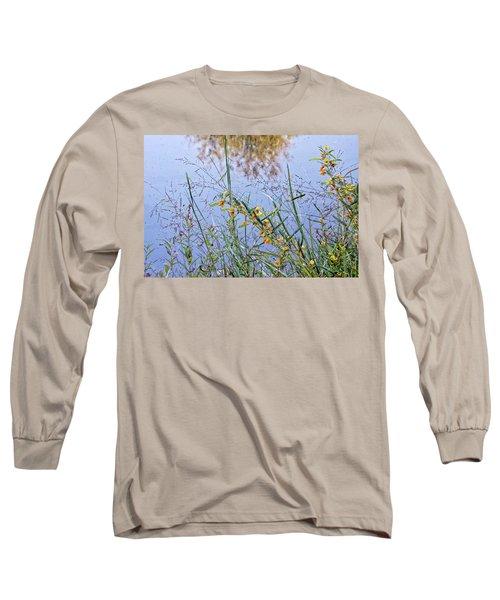 Floral Pond  Long Sleeve T-Shirt