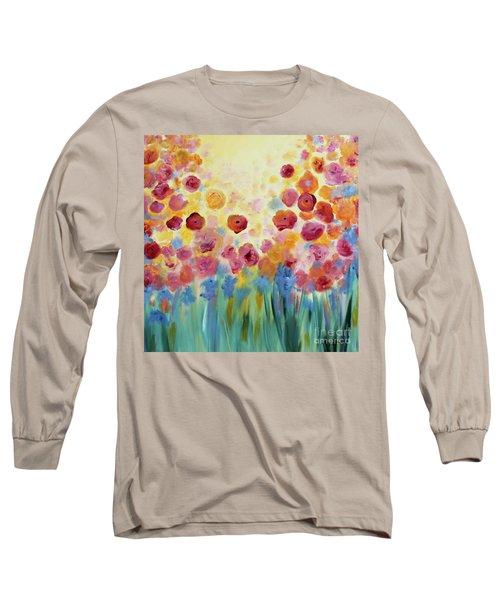 Floral Splendor II Long Sleeve T-Shirt