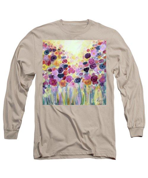 Floral Splendor IIi Long Sleeve T-Shirt