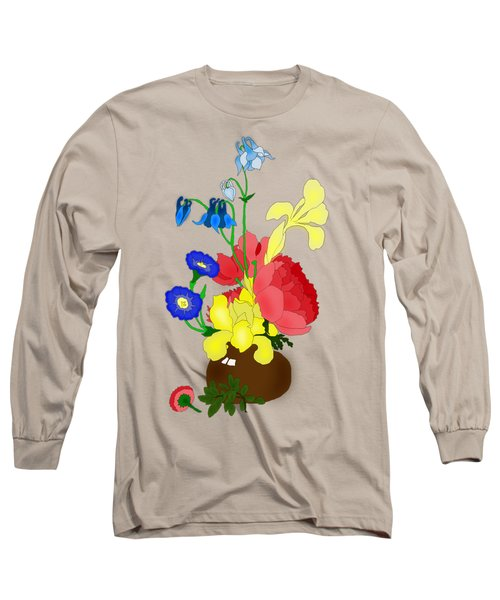 Floral Still Life 1674 Long Sleeve T-Shirt
