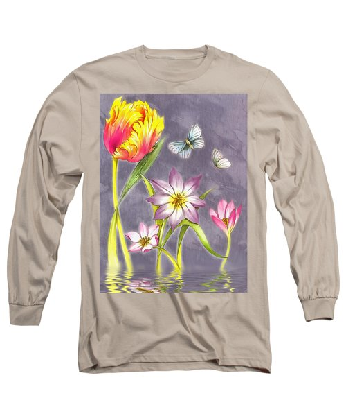Floral Supreme Long Sleeve T-Shirt by Mario Carini