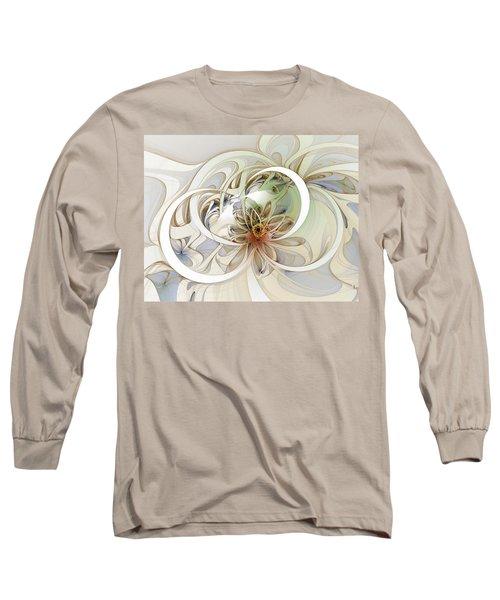 Floral Swirls Long Sleeve T-Shirt