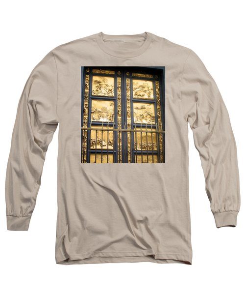 Florence Baptistry Doors Long Sleeve T-Shirt
