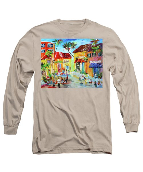 Florida Cafe Long Sleeve T-Shirt