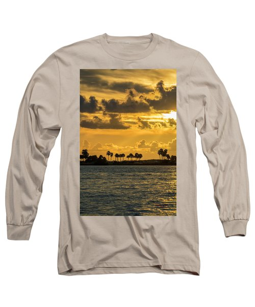 Florida Sunset-1 Long Sleeve T-Shirt