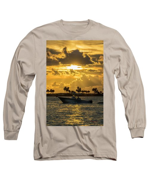 Florida Sunset-2 Long Sleeve T-Shirt