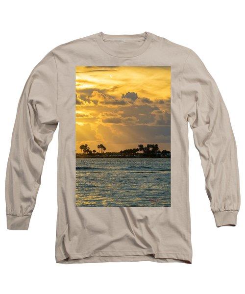Florida Sunset-3 Long Sleeve T-Shirt
