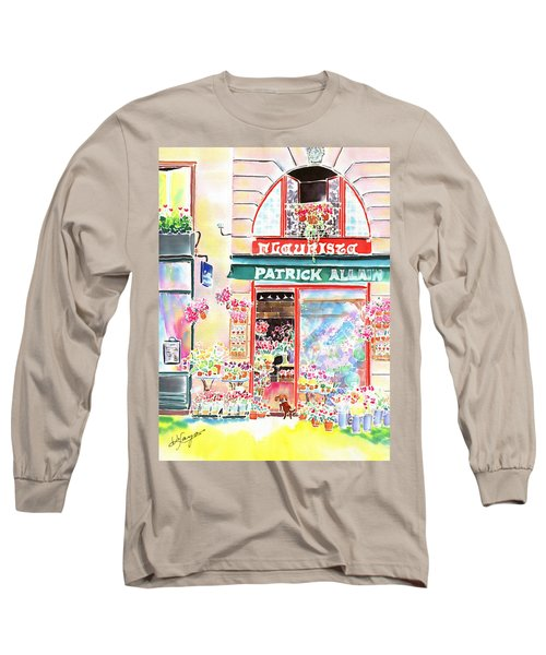 Florist In Ile St.louis Long Sleeve T-Shirt