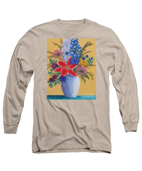 Florist's Creation Long Sleeve T-Shirt by Anne Marie Brown