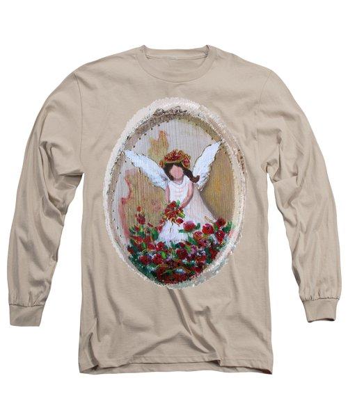 Flower Angel Long Sleeve T-Shirt