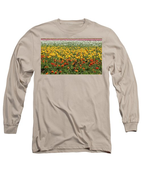 Flower Blanket From Carlsbad Long Sleeve T-Shirt
