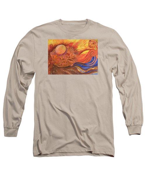 Flower Dream Long Sleeve T-Shirt by Rita Fetisov