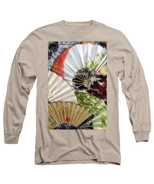 Flower Garden Long Sleeve T-Shirt by Hiroko Sakai