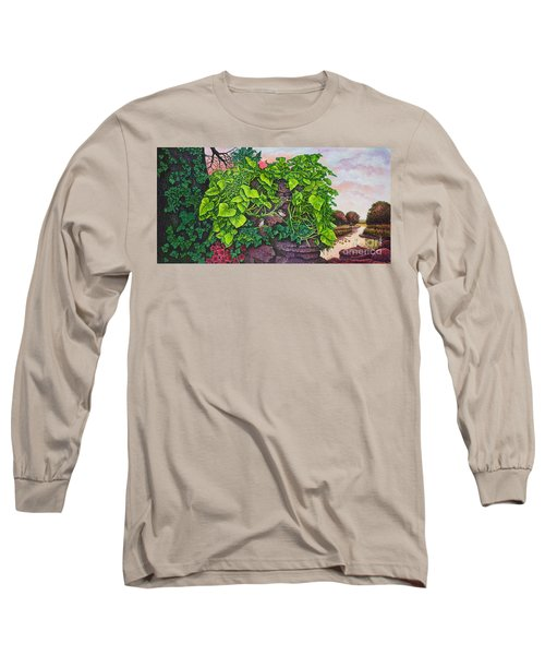 Flower Garden Viii Long Sleeve T-Shirt by Michael Frank