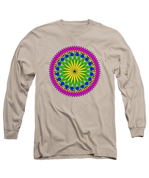 Flower Mandala By Kaye Menner Long Sleeve T-Shirt