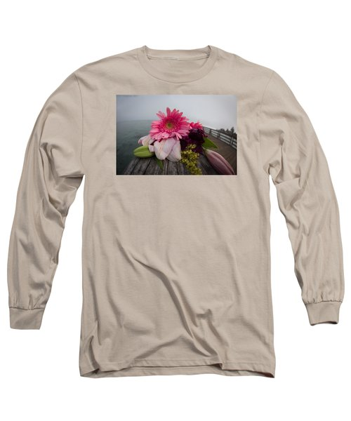 Long Sleeve T-Shirt featuring the photograph We All Die Sometime by Lora Lee Chapman