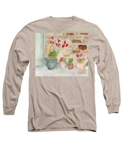 Flower Pots Long Sleeve T-Shirt