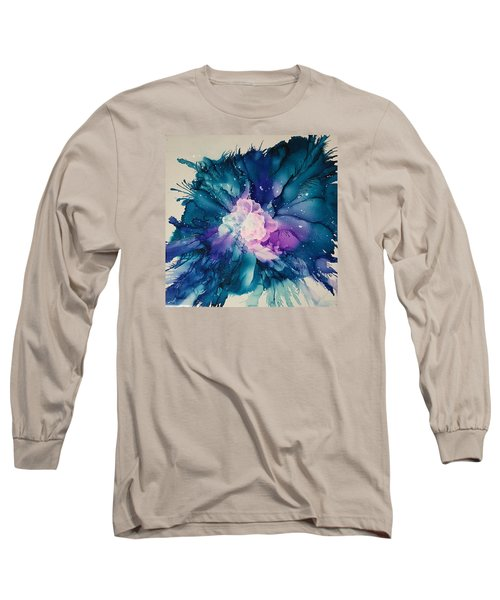Flower Power Long Sleeve T-Shirt by Suzanne Canner