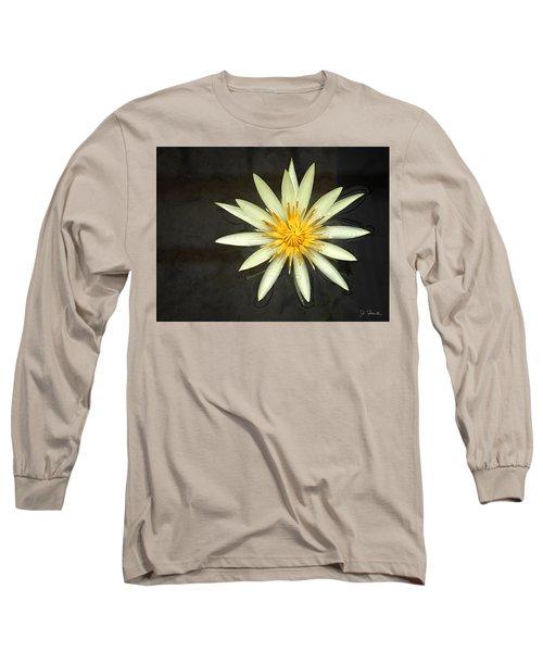 Flowerburst Long Sleeve T-Shirt by Joe Bonita
