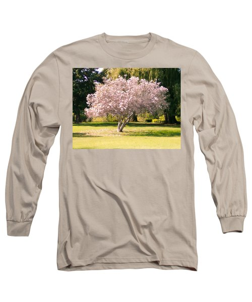 Flowering Tree Long Sleeve T-Shirt by Mark Barclay