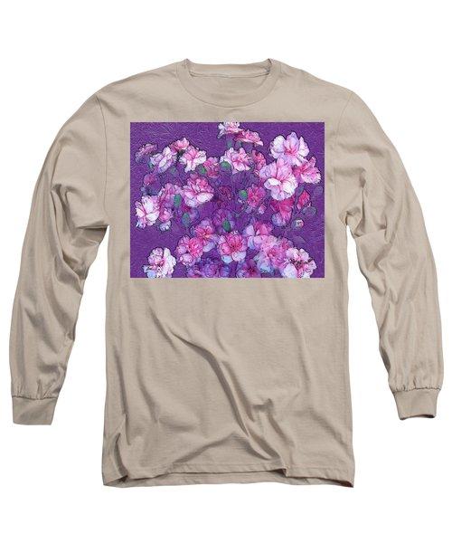 Flowers #063 Long Sleeve T-Shirt