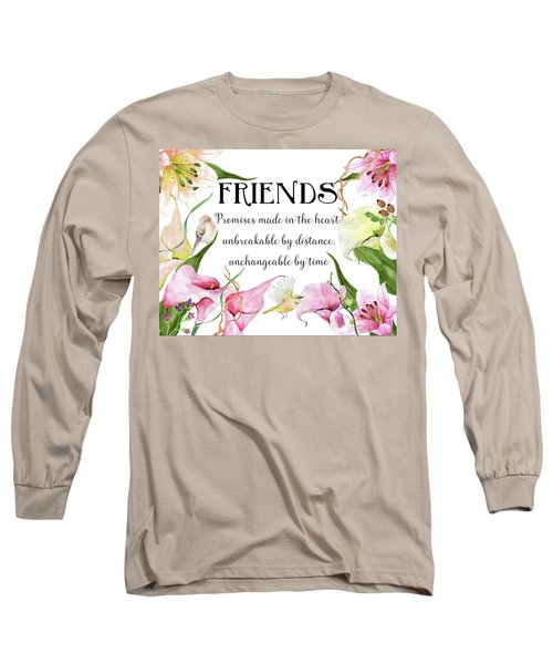 Flowers And Birds Long Sleeve T-Shirt
