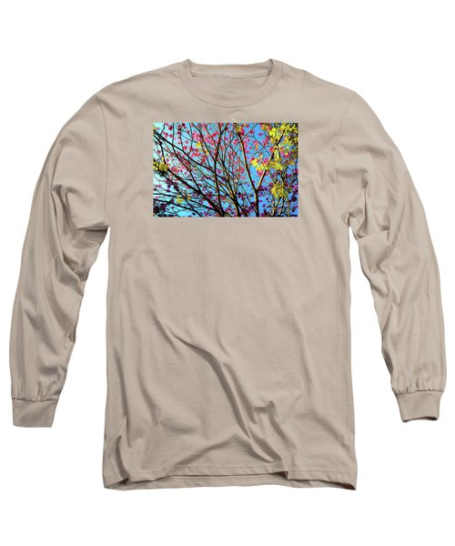 Flowers And Trees Long Sleeve T-Shirt