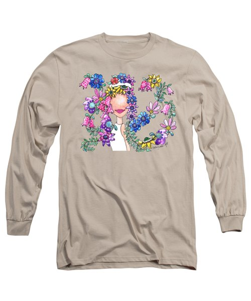Flowers As Fashion Long Sleeve T-Shirt