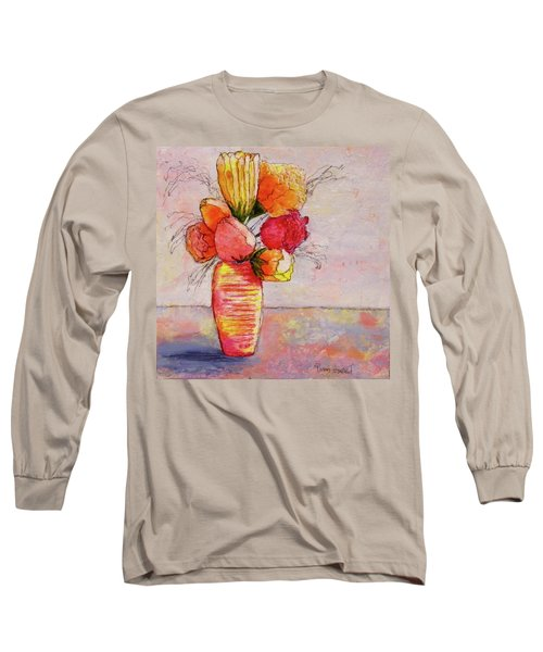 Flowers Long Sleeve T-Shirt by Terry Honstead