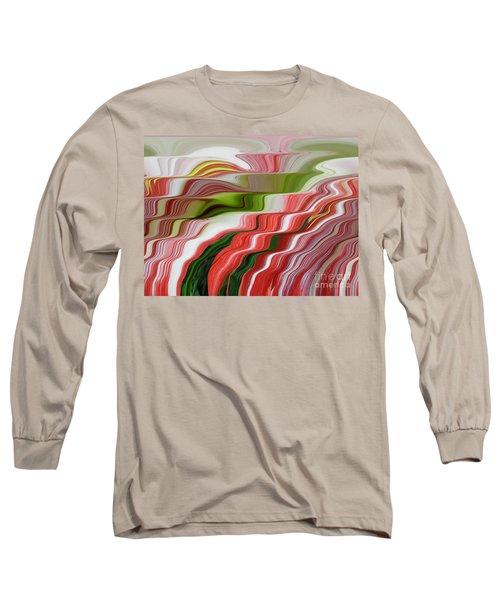 Flowing Amaryllis  Long Sleeve T-Shirt