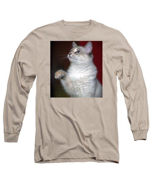 Fluffy Long Sleeve T-Shirt