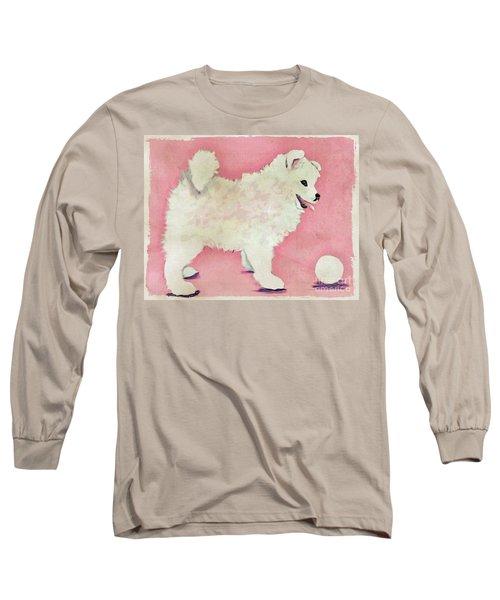 Fluffy Pup Long Sleeve T-Shirt