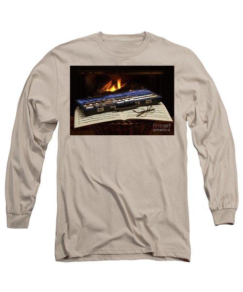 Flute Still Life Long Sleeve T-Shirt