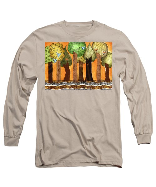 Flying In The Forest Long Sleeve T-Shirt