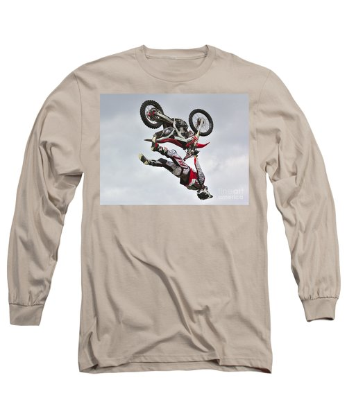 Flying Inverted Long Sleeve T-Shirt