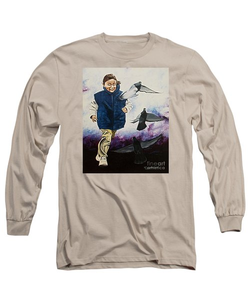 Flying With The Birds - Volar Con Las Aves Long Sleeve T-Shirt