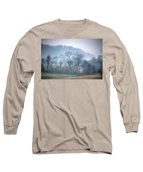 Foggy Hills Long Sleeve T-Shirt